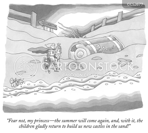 sand castle cartoon