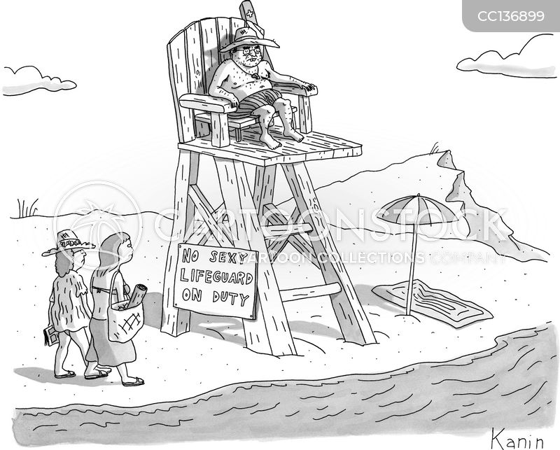 seaside cartoon