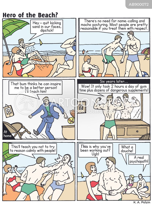 psychopathic cartoon