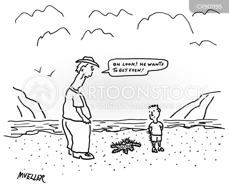 sea creature cartoon