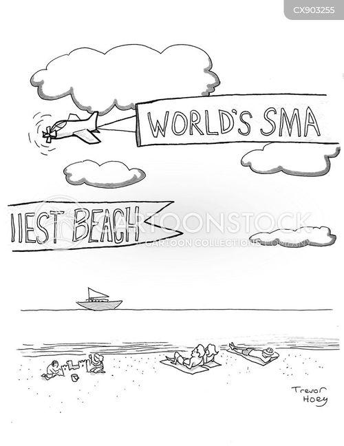 banner cartoon