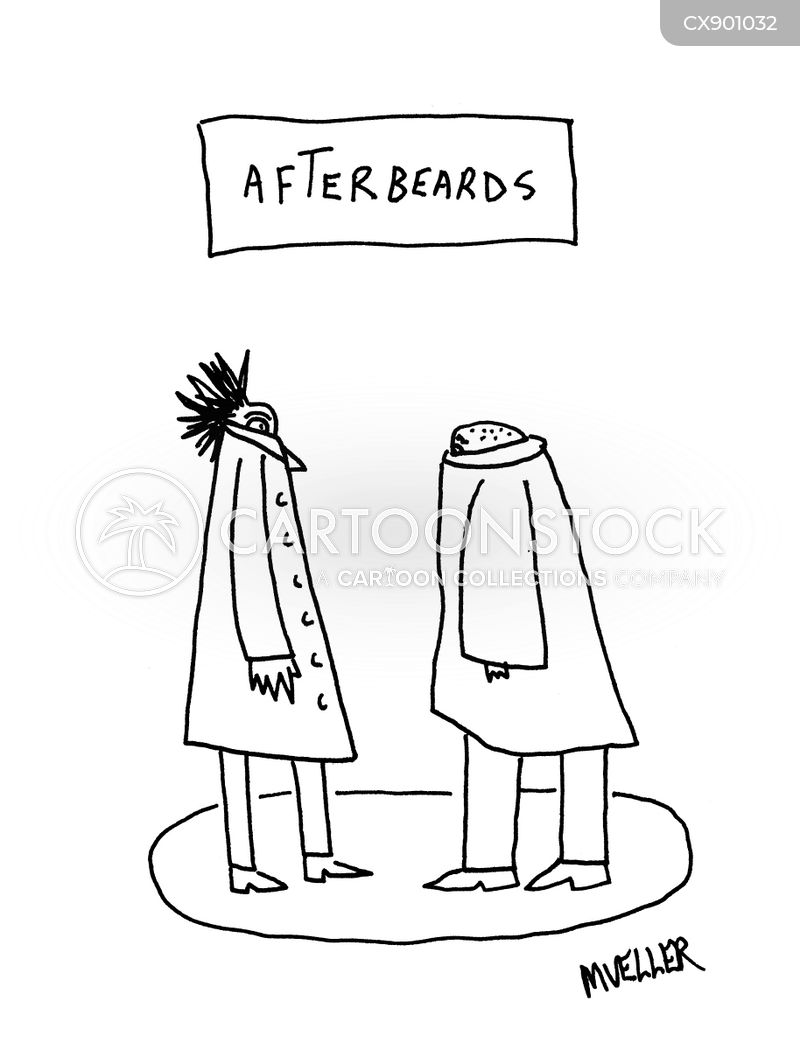beards cartoon