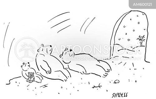 bear caves cartoon