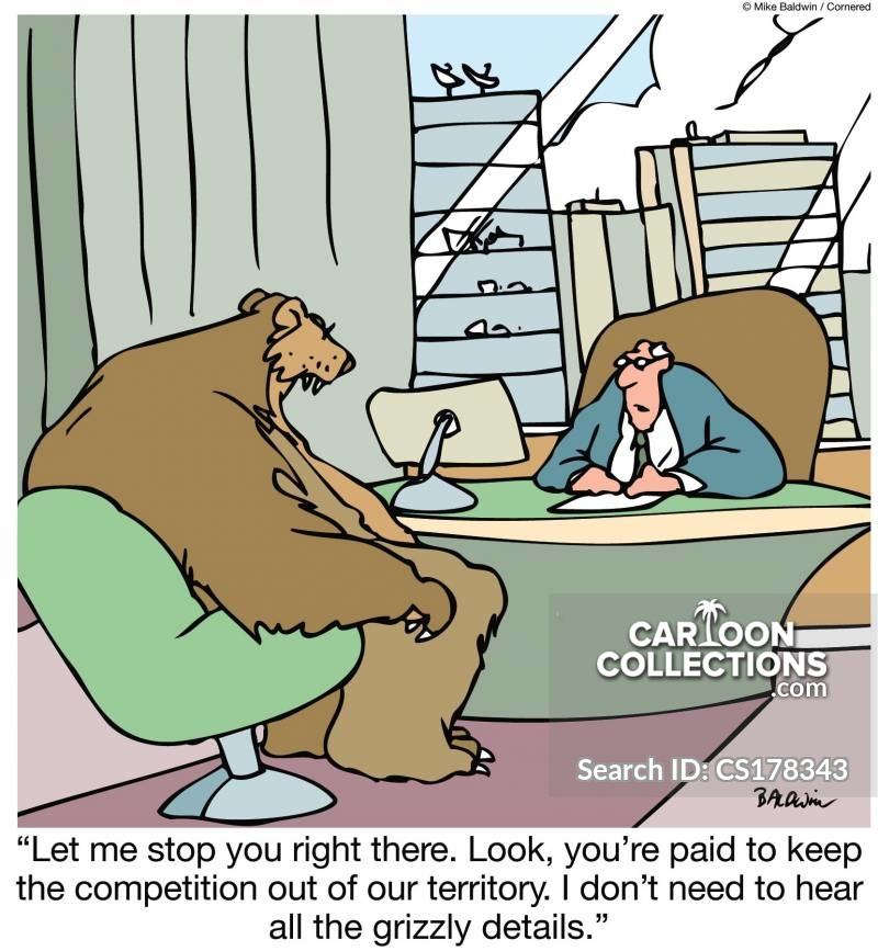 grizzly details cartoon