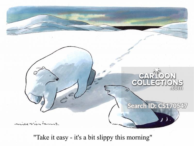 Icey Conditions cartoon