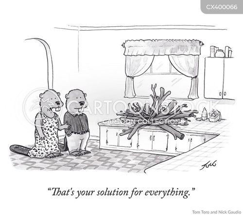 beaver damn cartoon