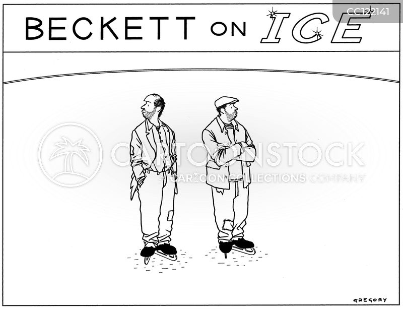 ice skate cartoon