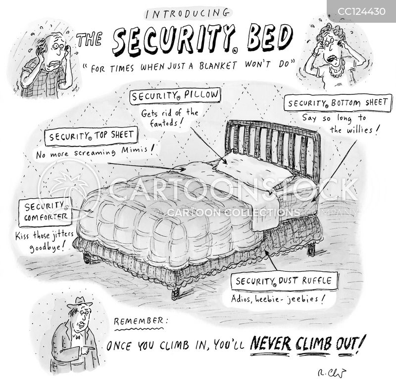 secure cartoon
