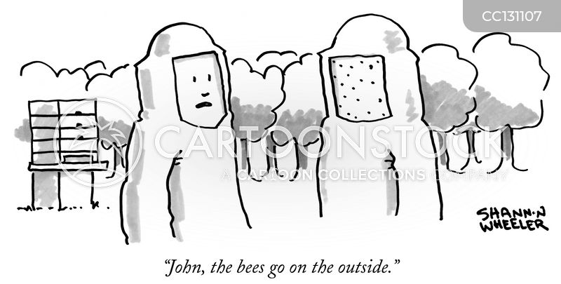 apiculture cartoon