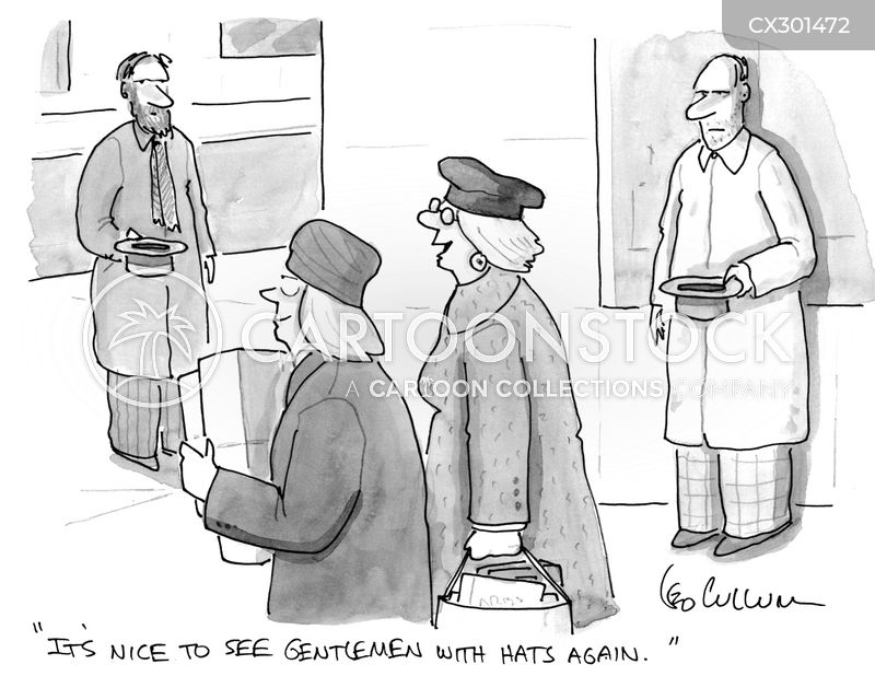 gentlemen cartoon