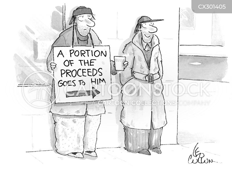 generosity cartoon
