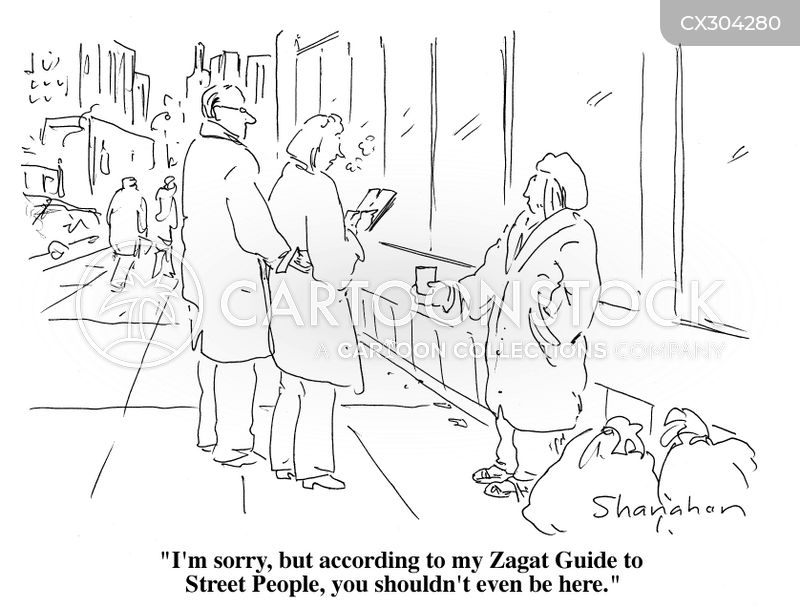 travel guide cartoon
