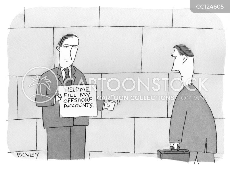 tax avoiders cartoon