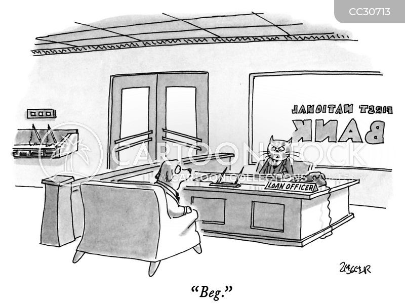 loan application cartoon