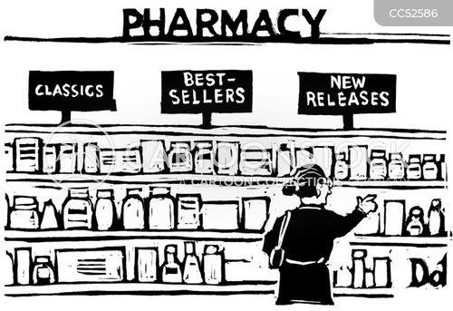 drugstores cartoon