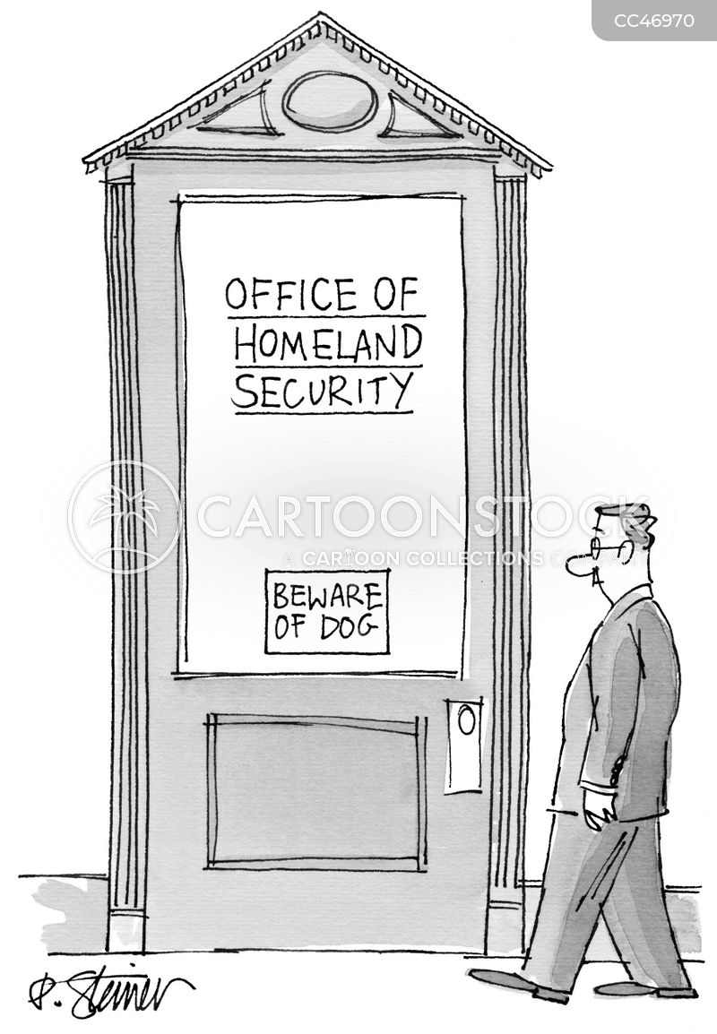security measures cartoon