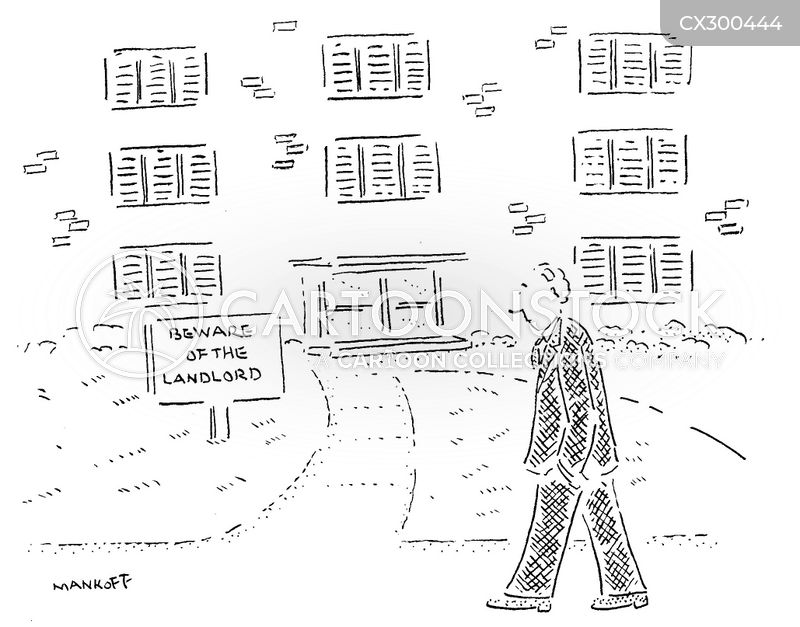 letting agent cartoon
