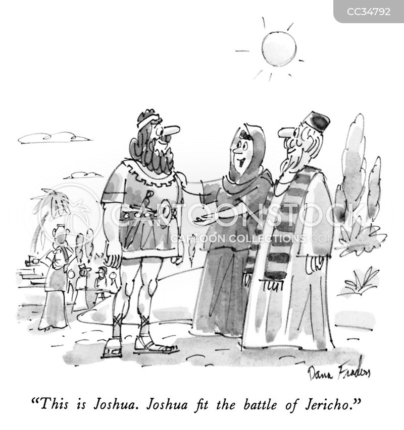 book of joshua cartoon