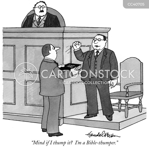 testify cartoon