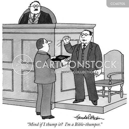 trial lawyer cartoon