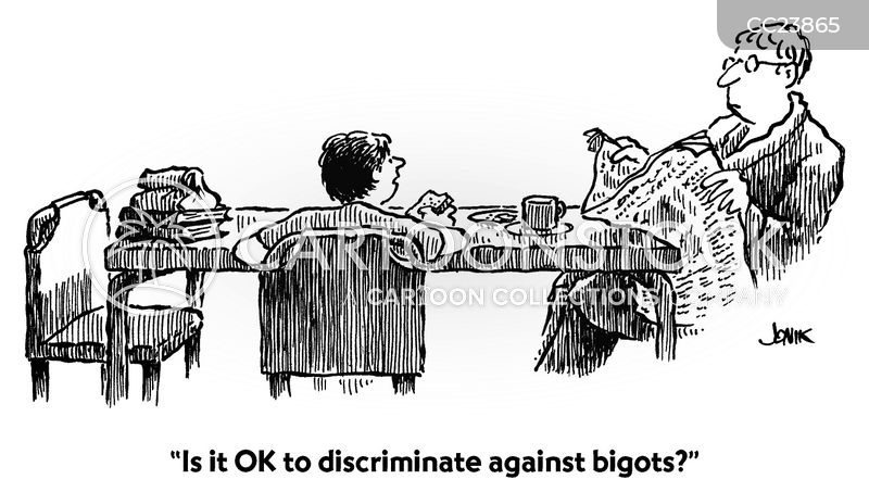 bigots cartoon