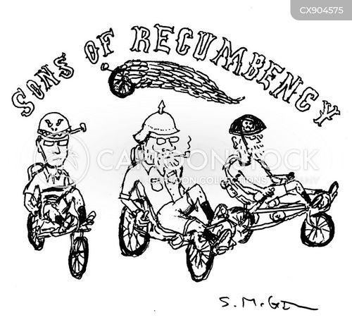 motorbike cartoon