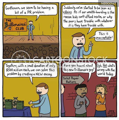 financial inequality cartoon