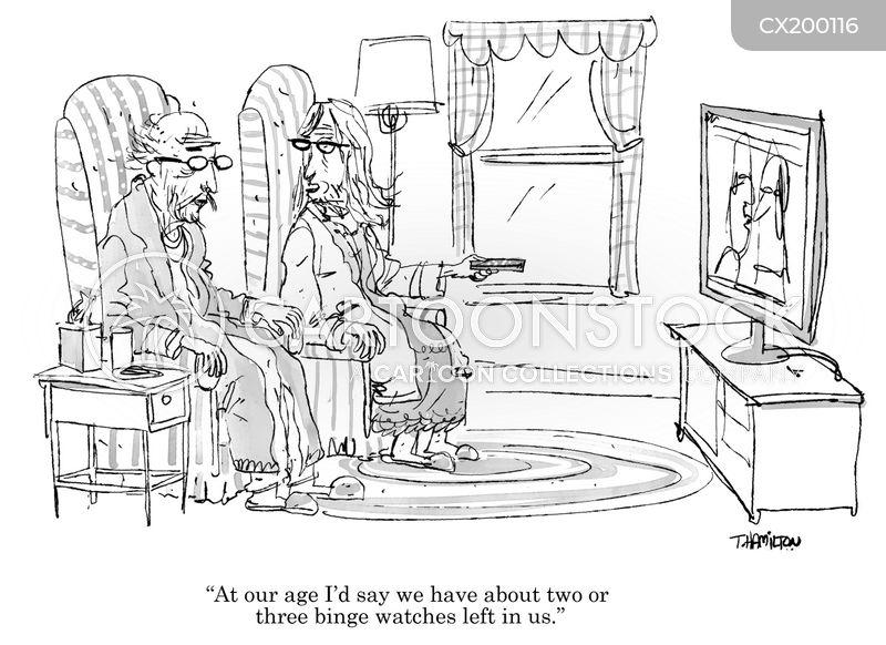television fans cartoon