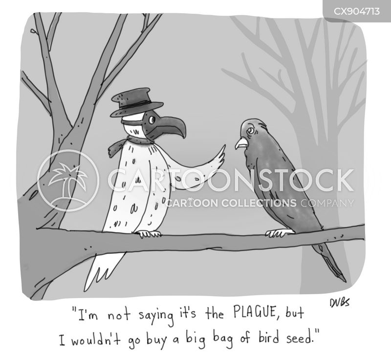 plague cartoon