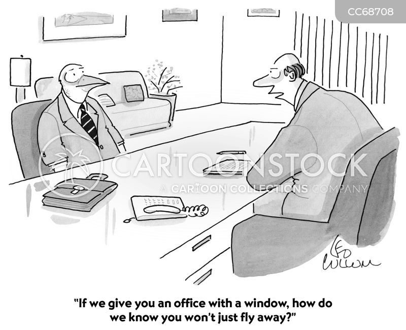 Office Managers cartoon