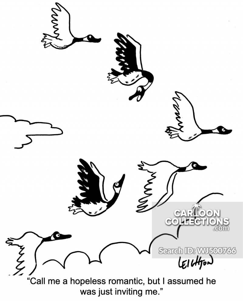v-shaped cartoon