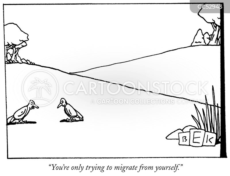 migrations cartoon
