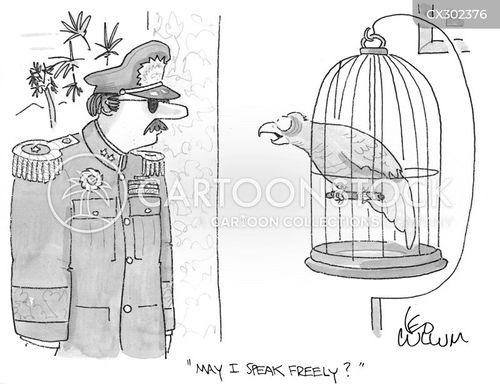 birdcage cartoon