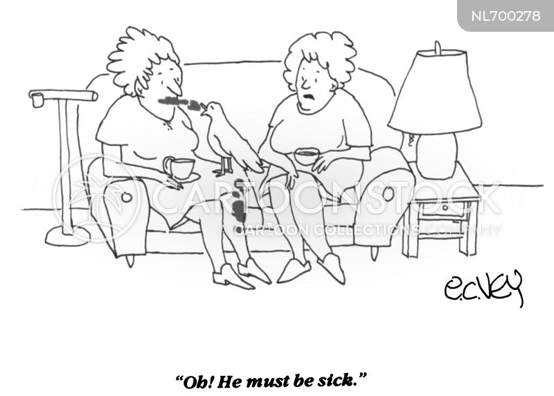 contagious cartoon