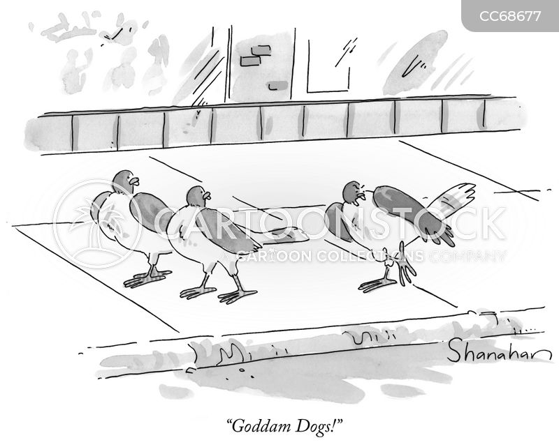 dog mess cartoon