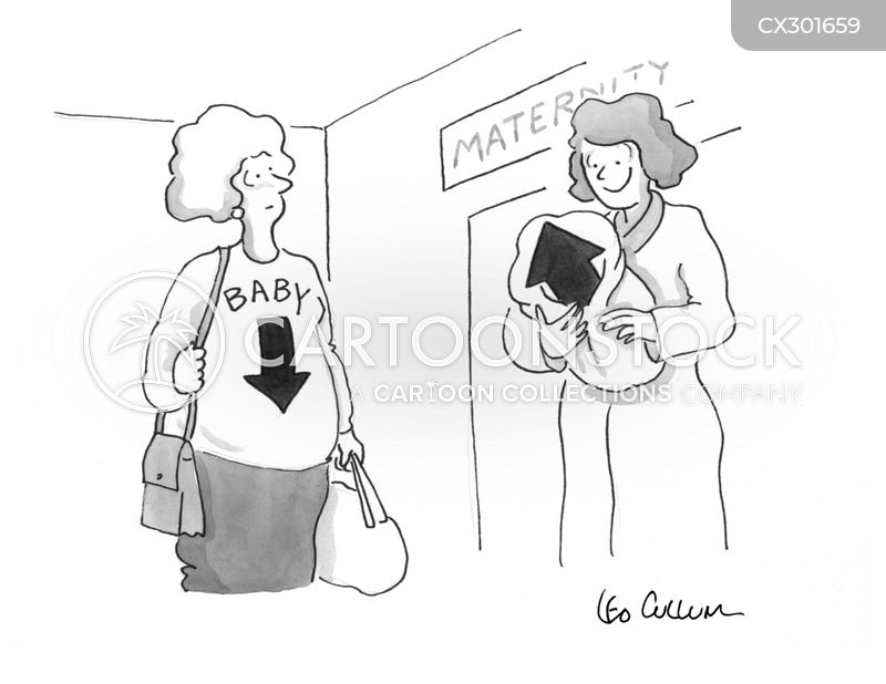 mum-to-be cartoon