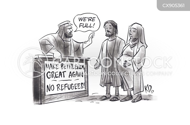 racist rhetoric cartoon