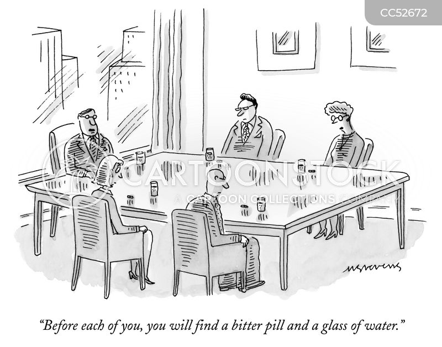 Cartoon – Swallowing a Bitter Pill | HENRY KOTULA