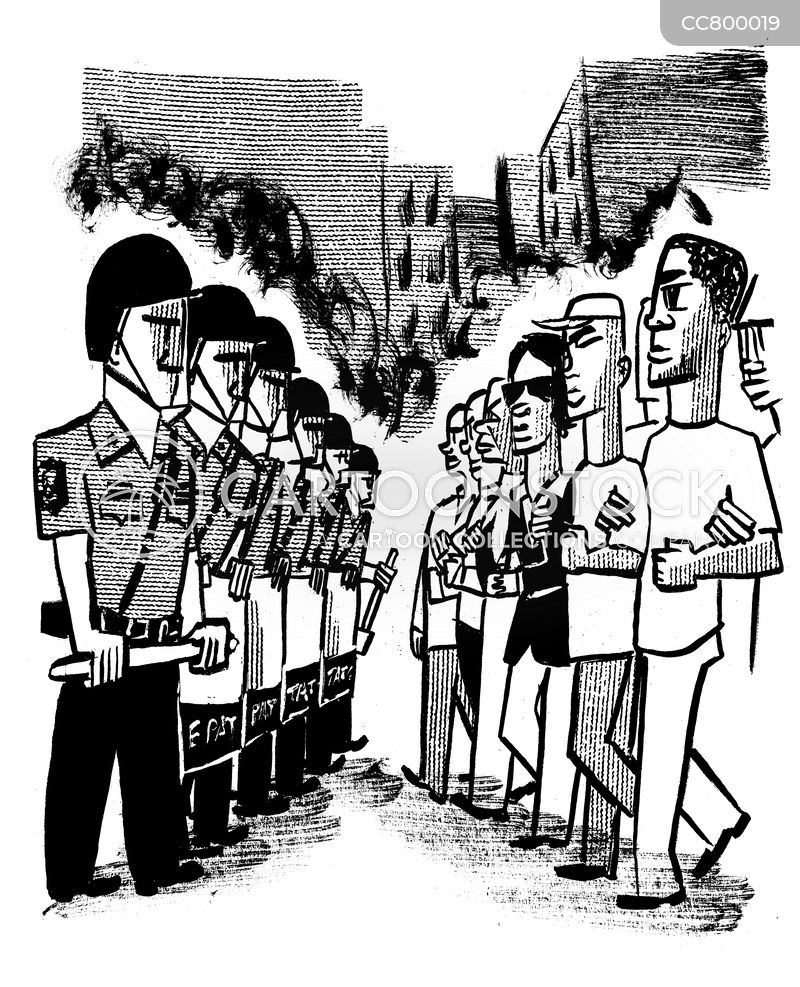 Civil Rights cartoon