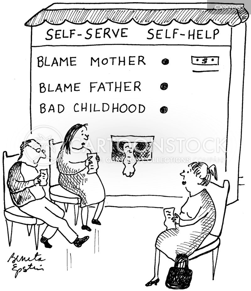 self serving cartoon