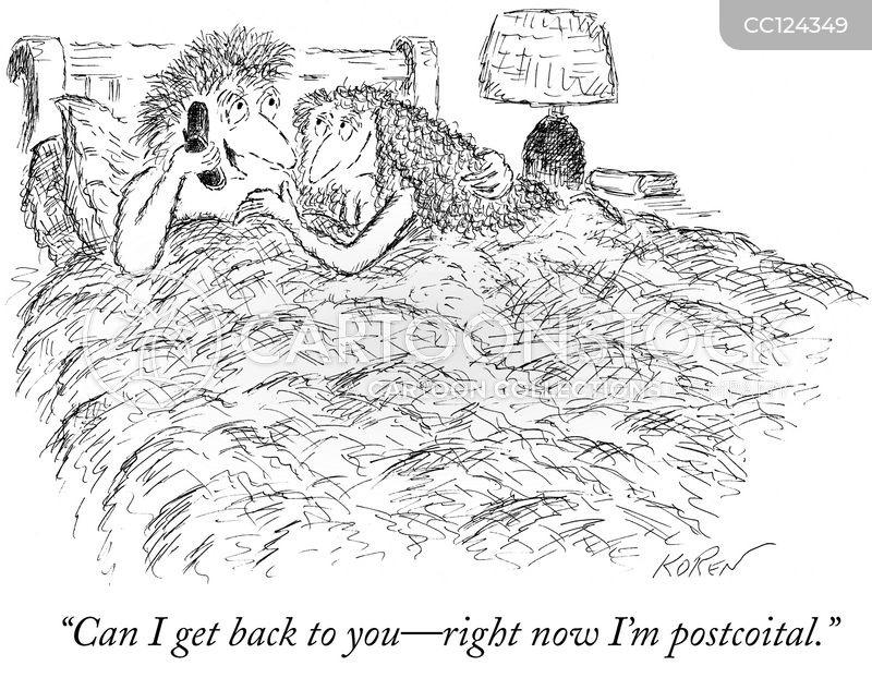 postcoital cartoon