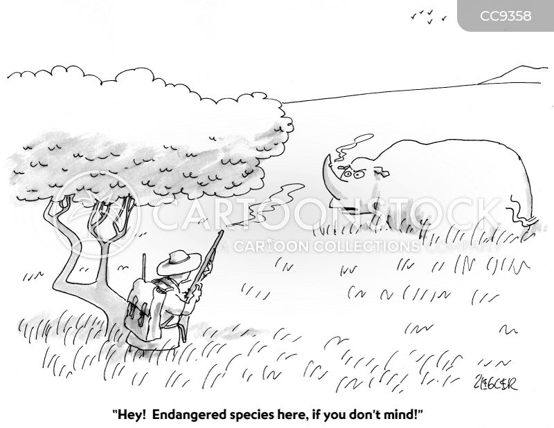 extinction cartoon