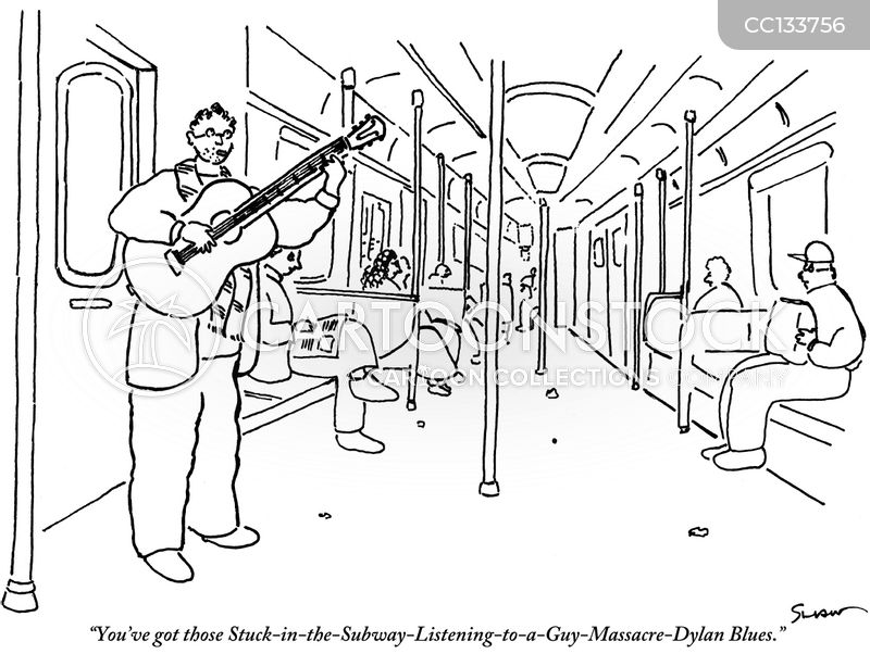 subway cartoon