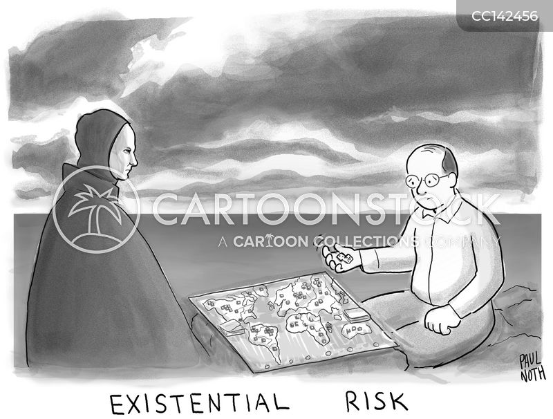 existential cartoon