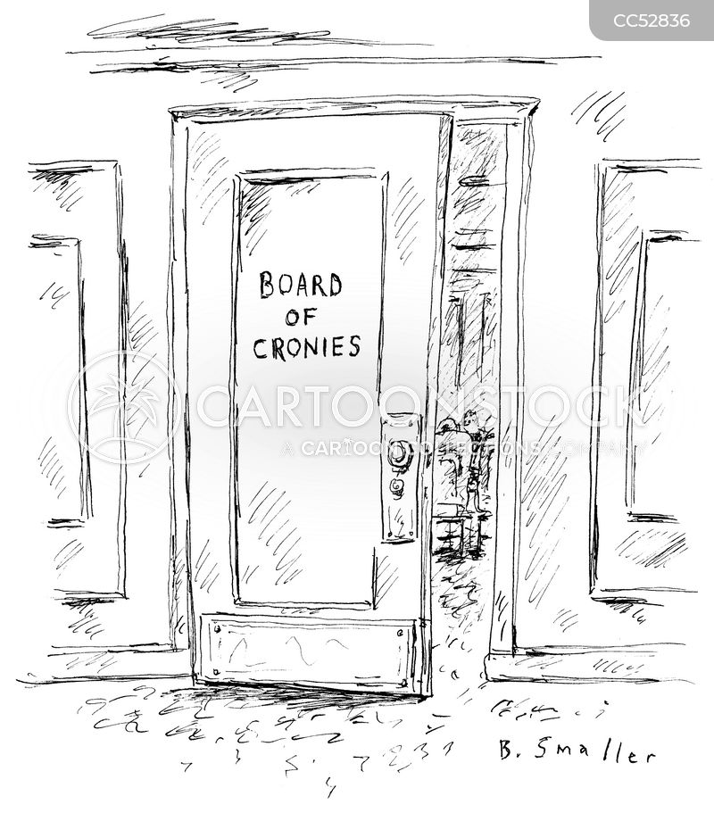 board-member cartoon