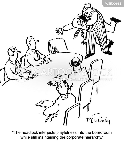 headlocks cartoon
