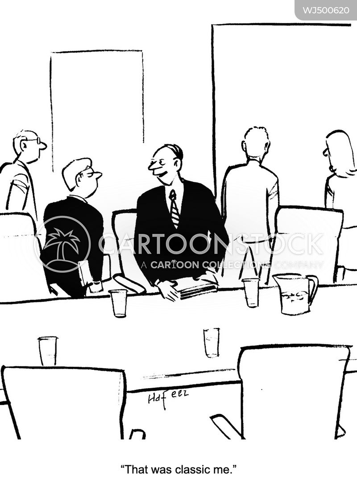 authoritative cartoon