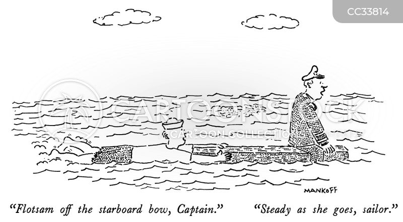 man overboard cartoon