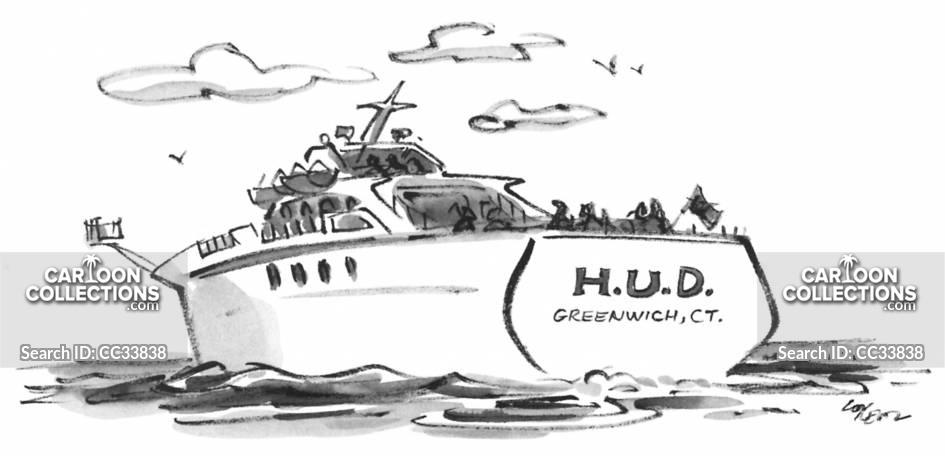 yachts cartoon