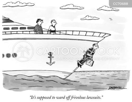 frivolous lawsuits cartoon